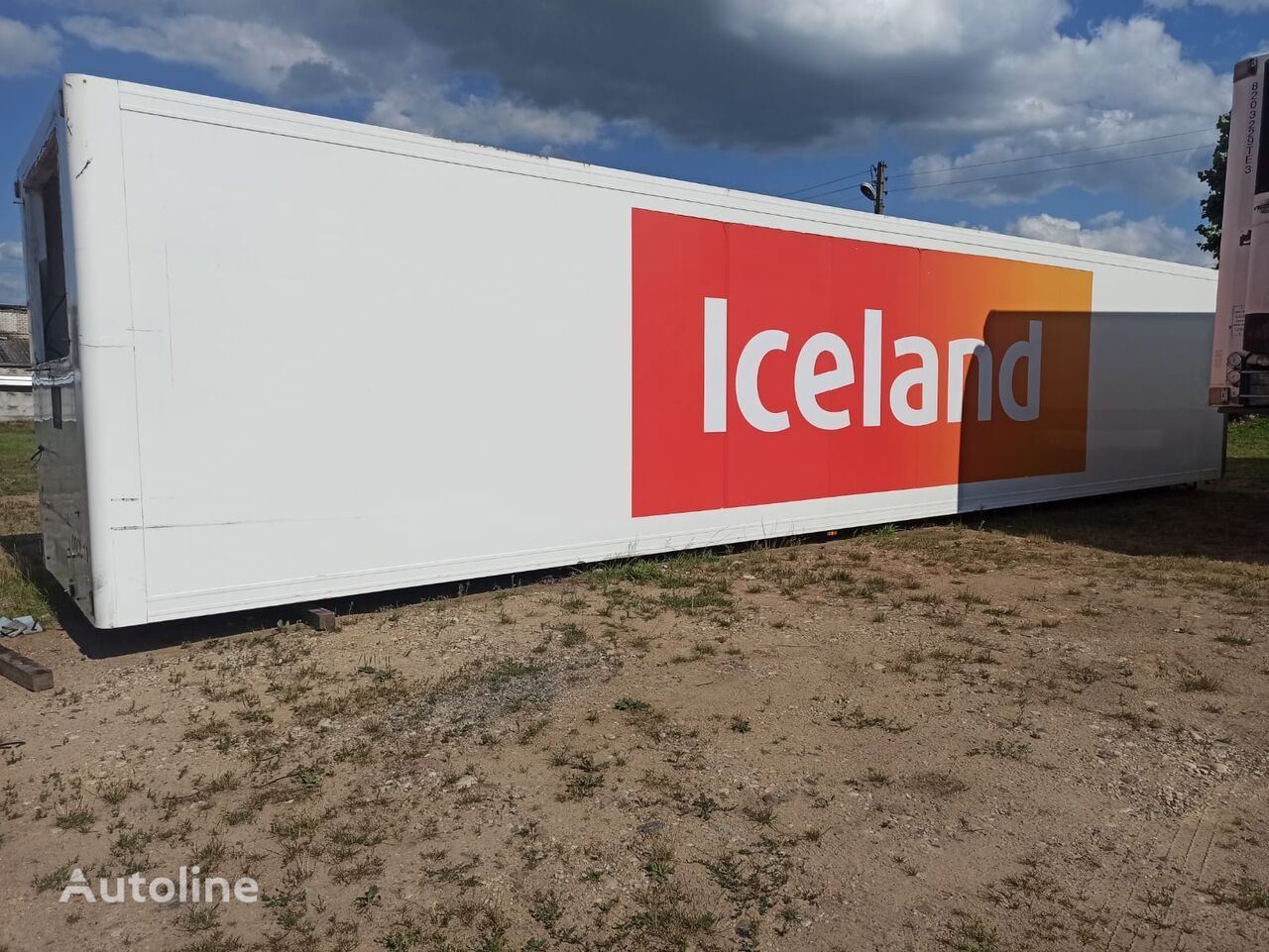 LAMBERET SOR refrigerated truck body