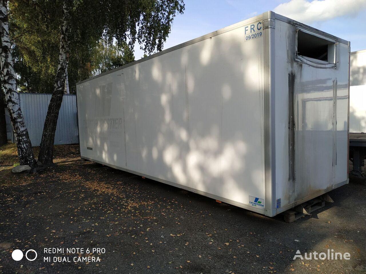 Refrizherator Tushevoz, myasnik 23 paleta refrigerated truck body
