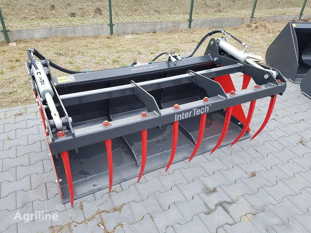 new InterTech Łyżko krokodyl Krokodilschaufel 2.2m silage bucket