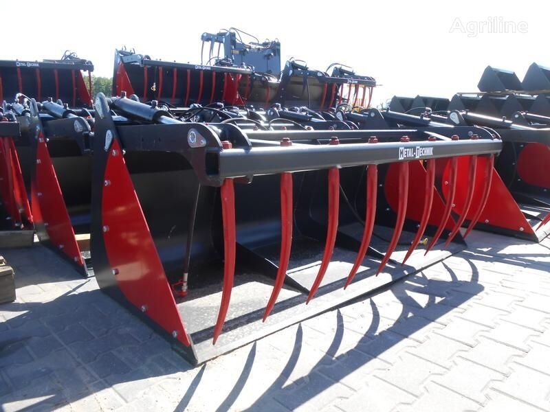 new Metal-Technik KROKOGREIFER/Crocodile*/Łycho-krokodyl 1,6 m* silage bucket