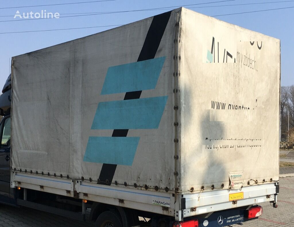 Side body with tarpaulin - up to 3.5 tons tautliner body