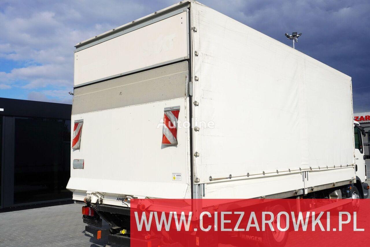 JUNGE Tarpulin body 6x2,5x2,5m + cargo lift 1000kg - 2 UNITS FOR tautliner body