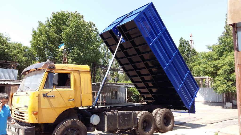 new KAMAZ 5320 tipper body