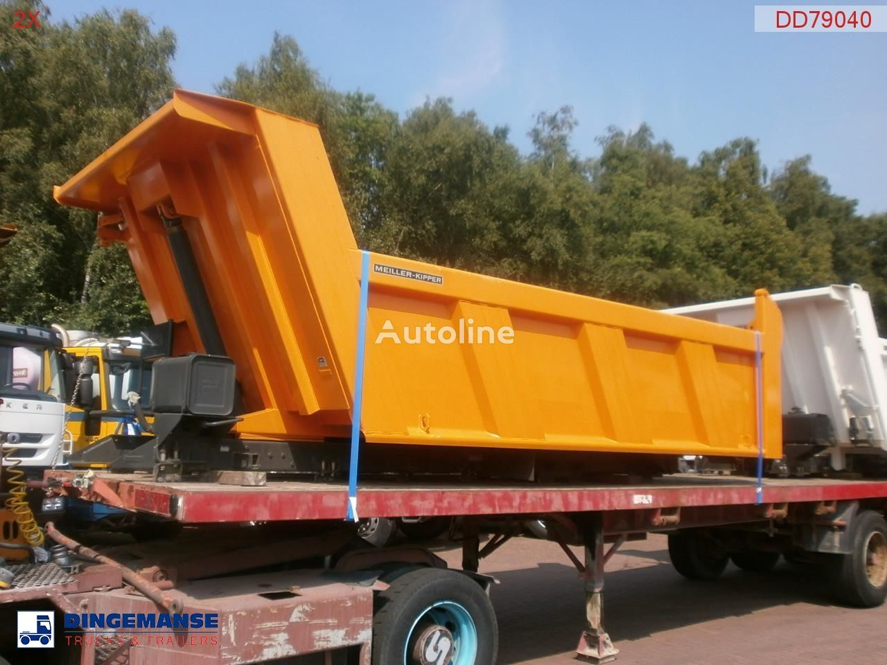 new MEILLER Tipper 115 h new/unused tipper body