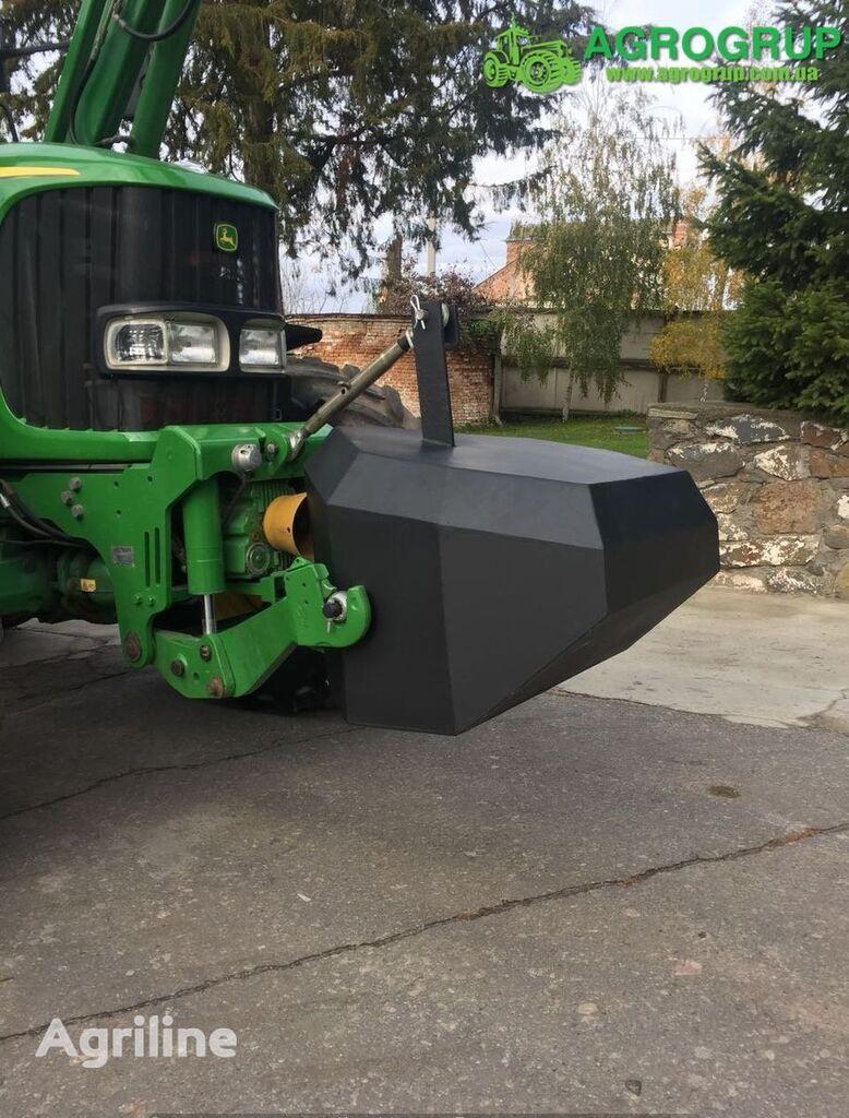 new JOHN DEERE AGROGRUP tractor counterweight