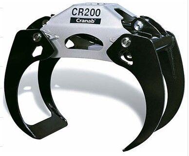 new Cranab CR200 wood grapple