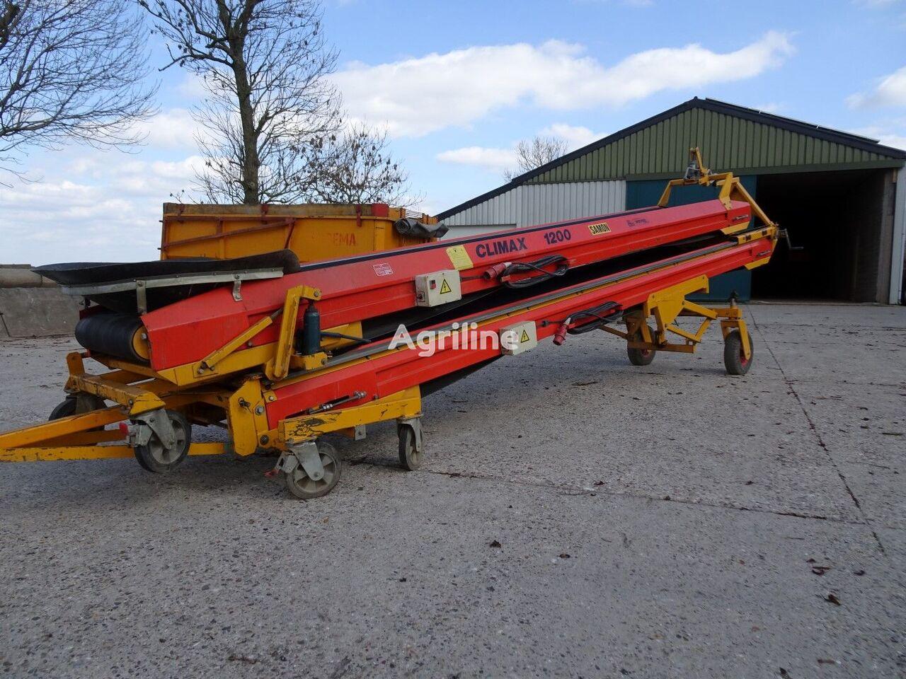 CLIMAX CDVE 1200 agricultural conveyor