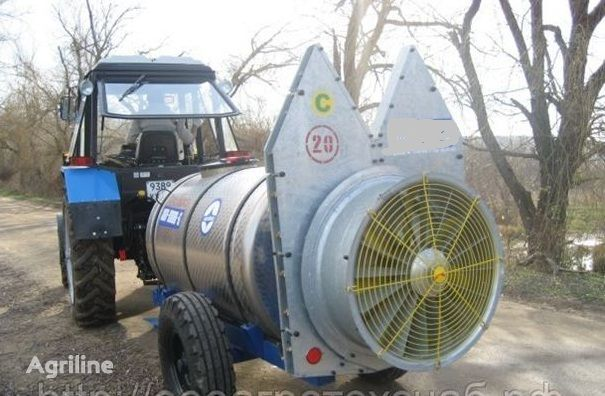 new LVOVSELMASH OPV-2000 air-blast sprayer