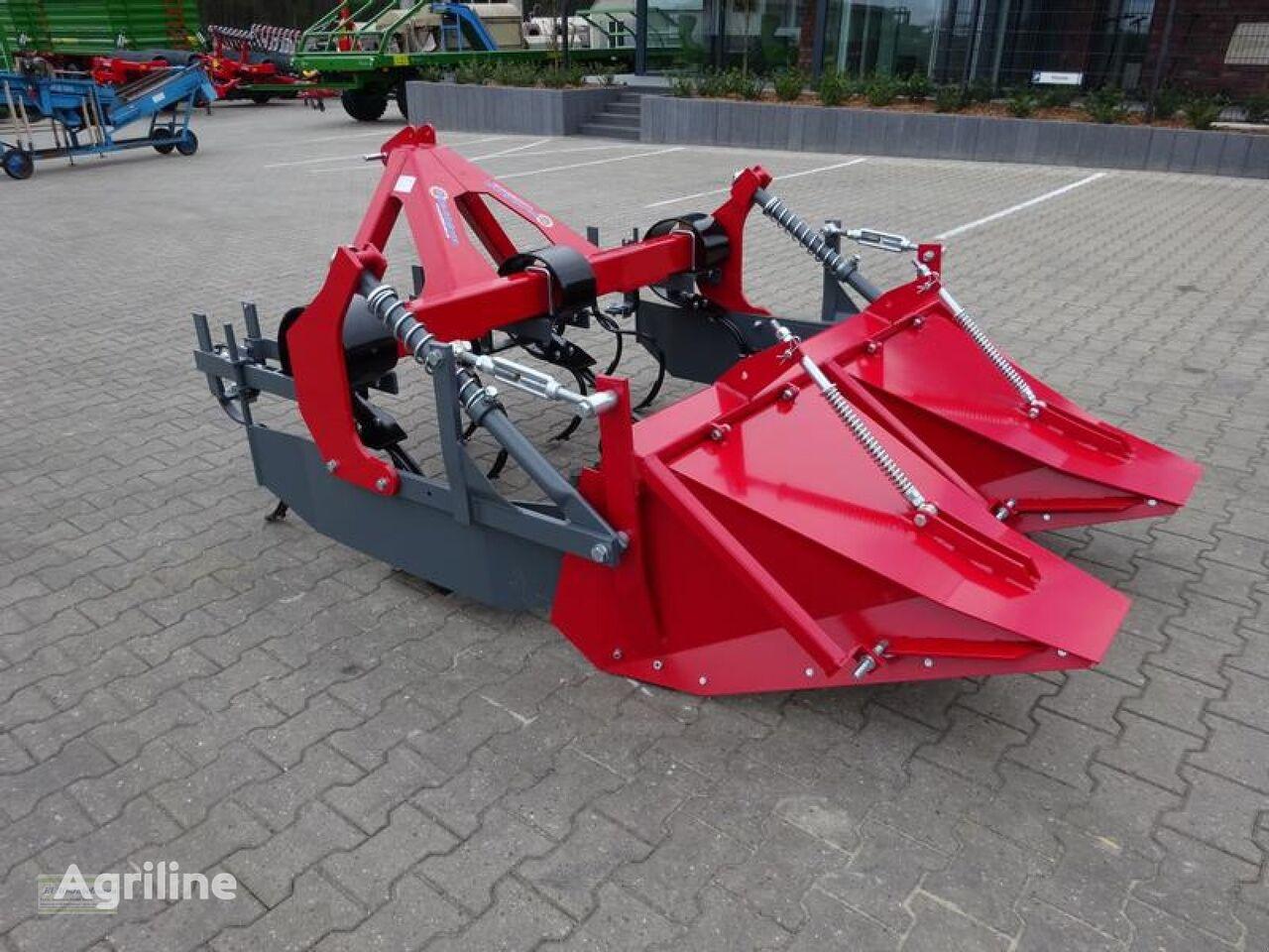 new Häufelgerät, Häufler V 3 D, 2 Reihen, mit Dammformblech bed former
