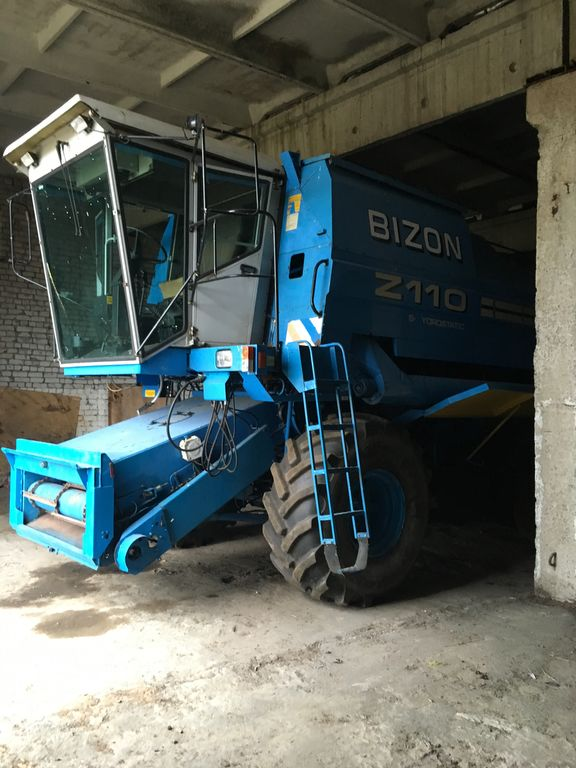 BIZON BS Z110 combine-harvester