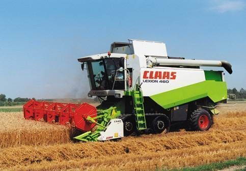 CLAAS LEXION 460 EVOLUTION combine-harvester