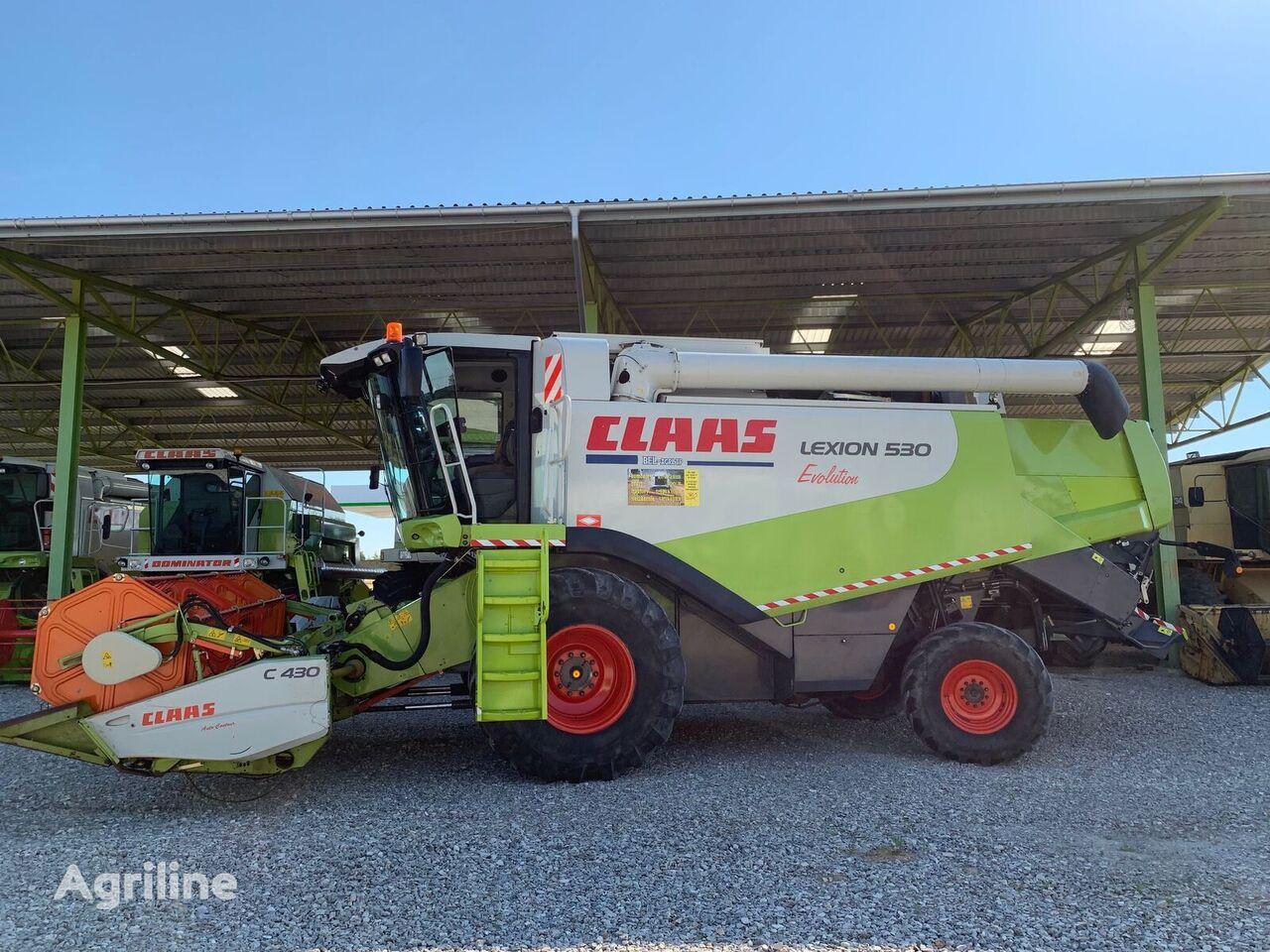 CLAAS LEXION 530 Evolution  combine-harvester