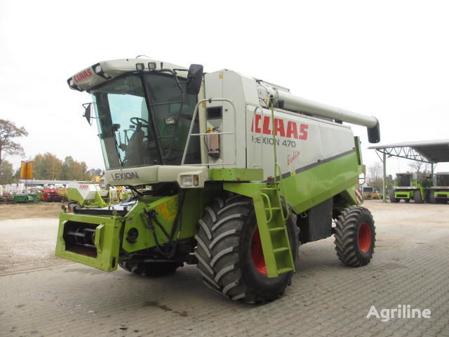 CLAAS Lexion 470 Evolution combine-harvester