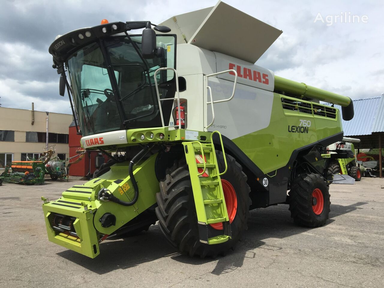 CLAAS Lexion 760 Z NIMEChChINI combine-harvester