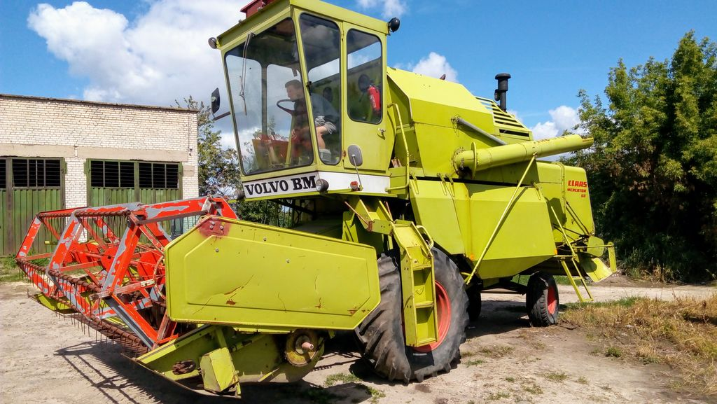 CLAAS MERCATOR 60 combine-harvester