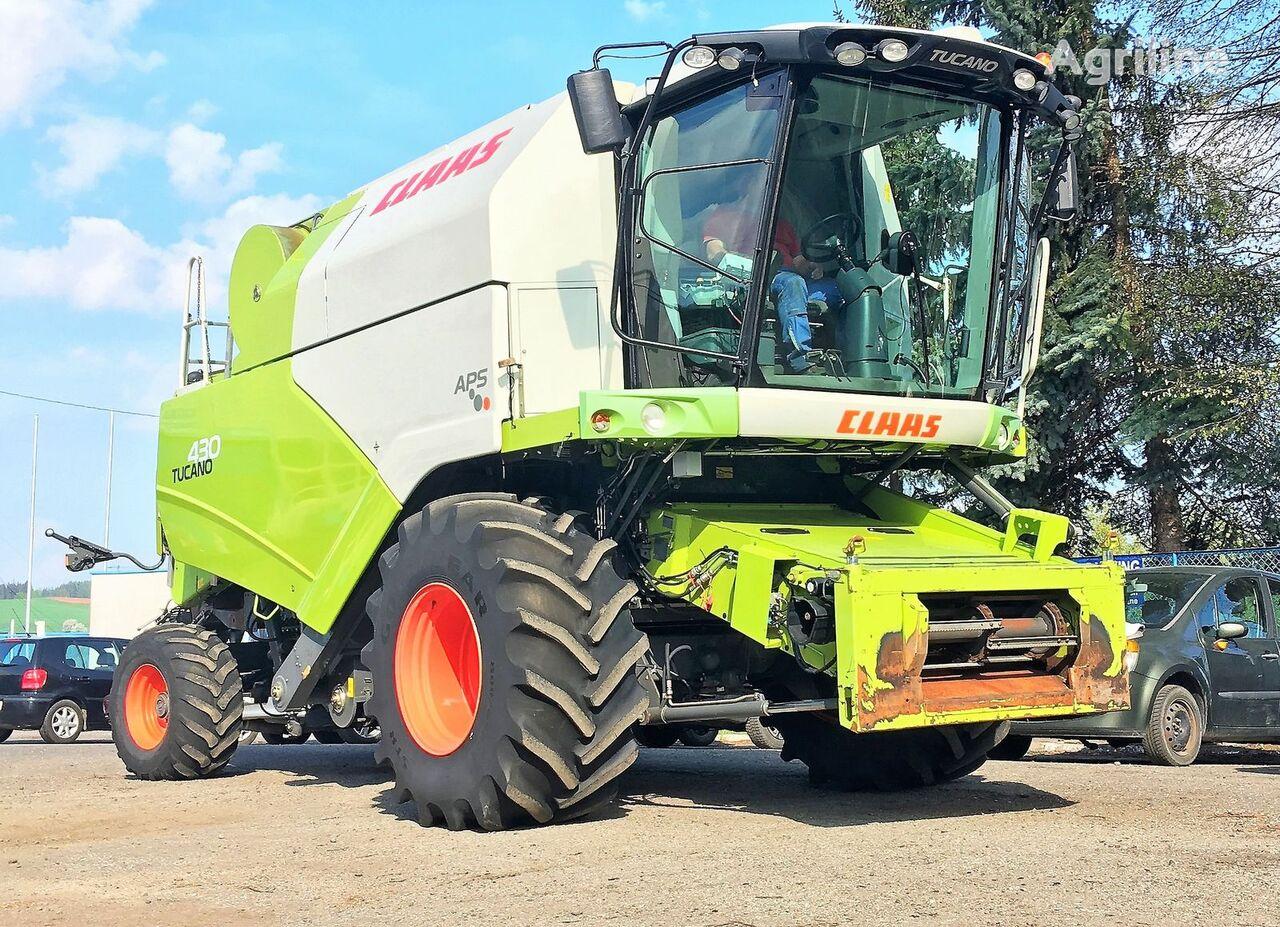 CLAAS TUCANO 430 APS 4X4 - 5,4 M - 2009 ROK combine-harvester