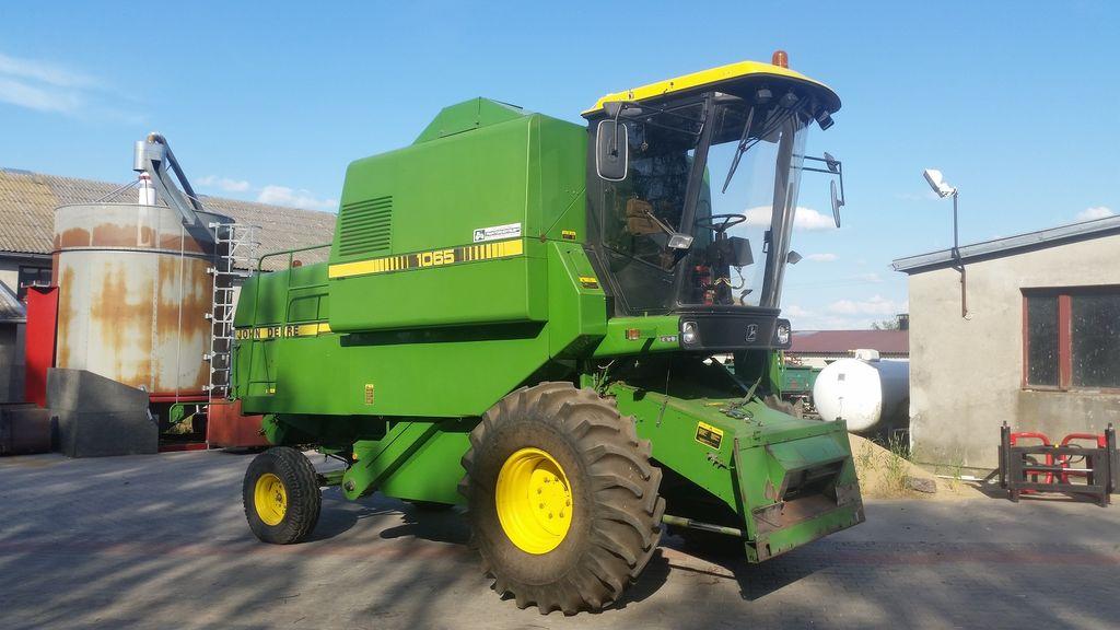 JOHN DEERE 1065 SUPER combine-harvester