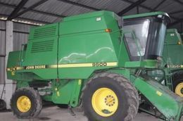 JOHN DEERE 9500 9600 STS PO ZAPChASTYaM NA RAZBORKE combine-harvester