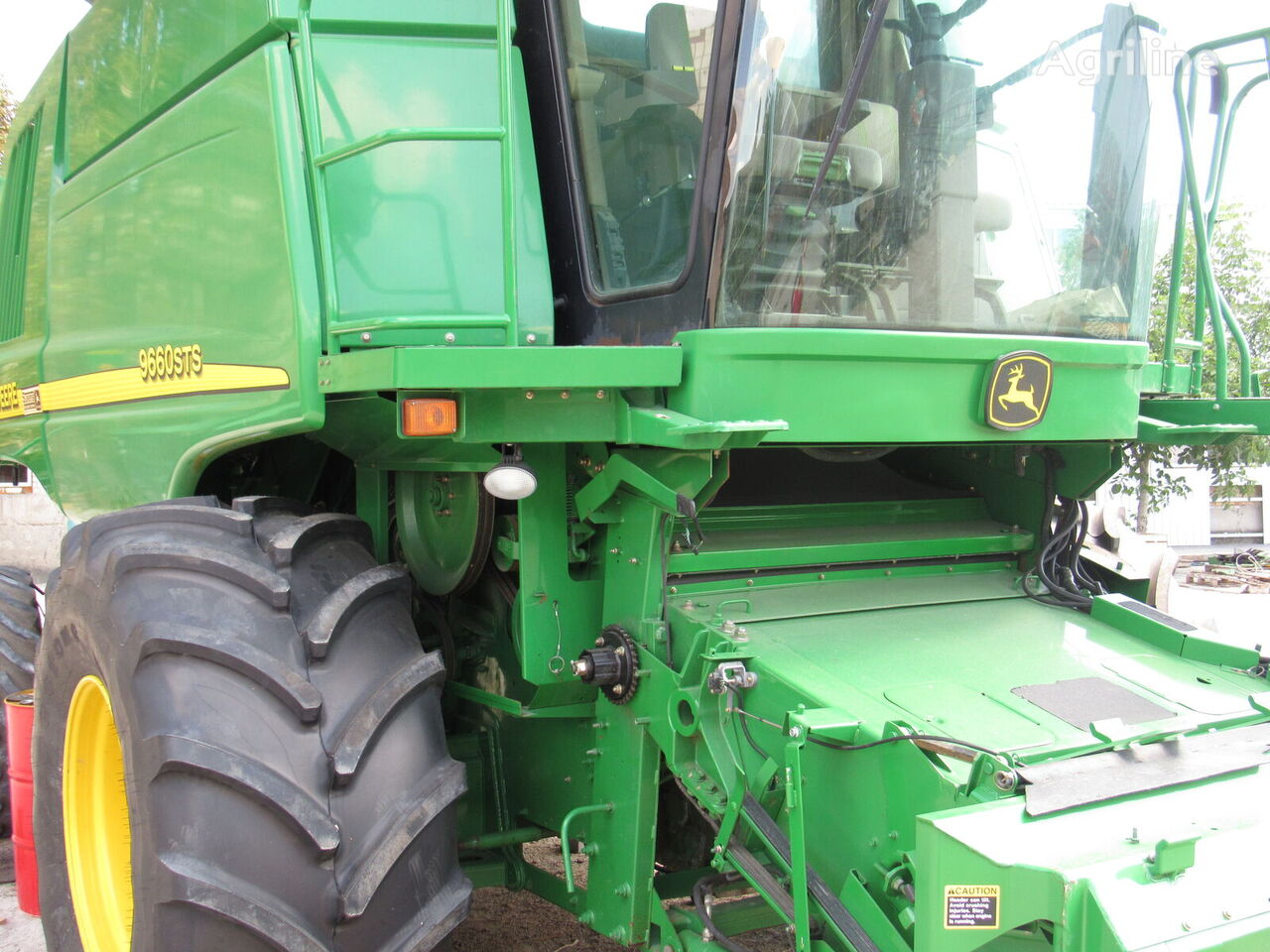 JOHN DEERE 9660 STS Tolko s Ameriki combine-harvester