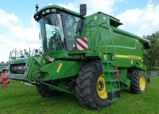 JOHN DEERE 9680 combine-harvester