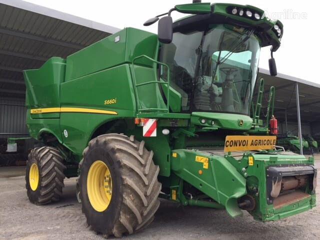 JOHN DEERE S660 + Zhatka 6.7  combine-harvester