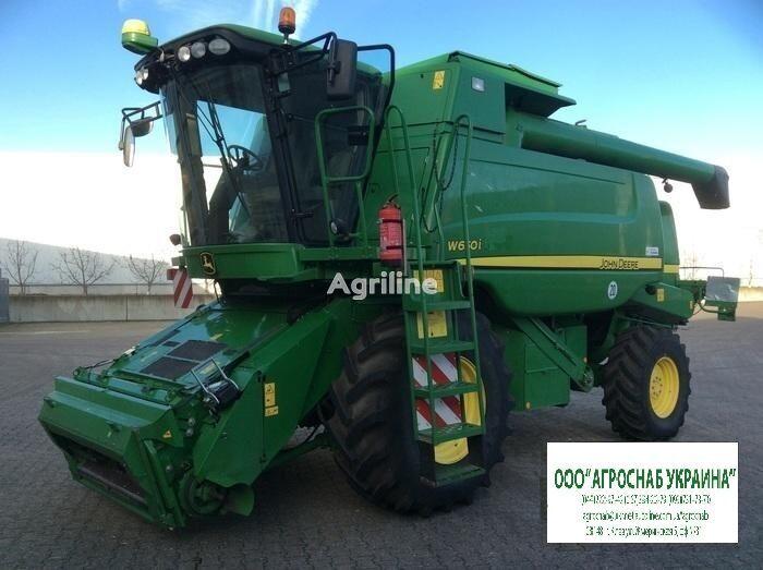 JOHN DEERE W650 combine-harvester