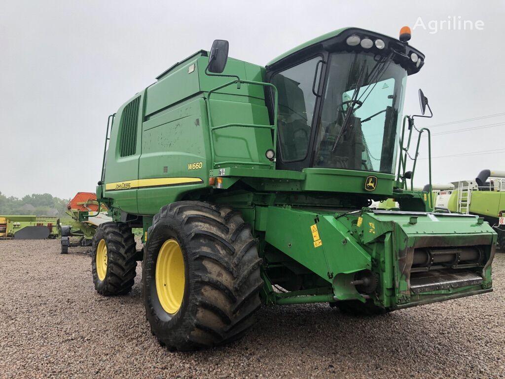 JOHN DEERE W660 combine-harvester