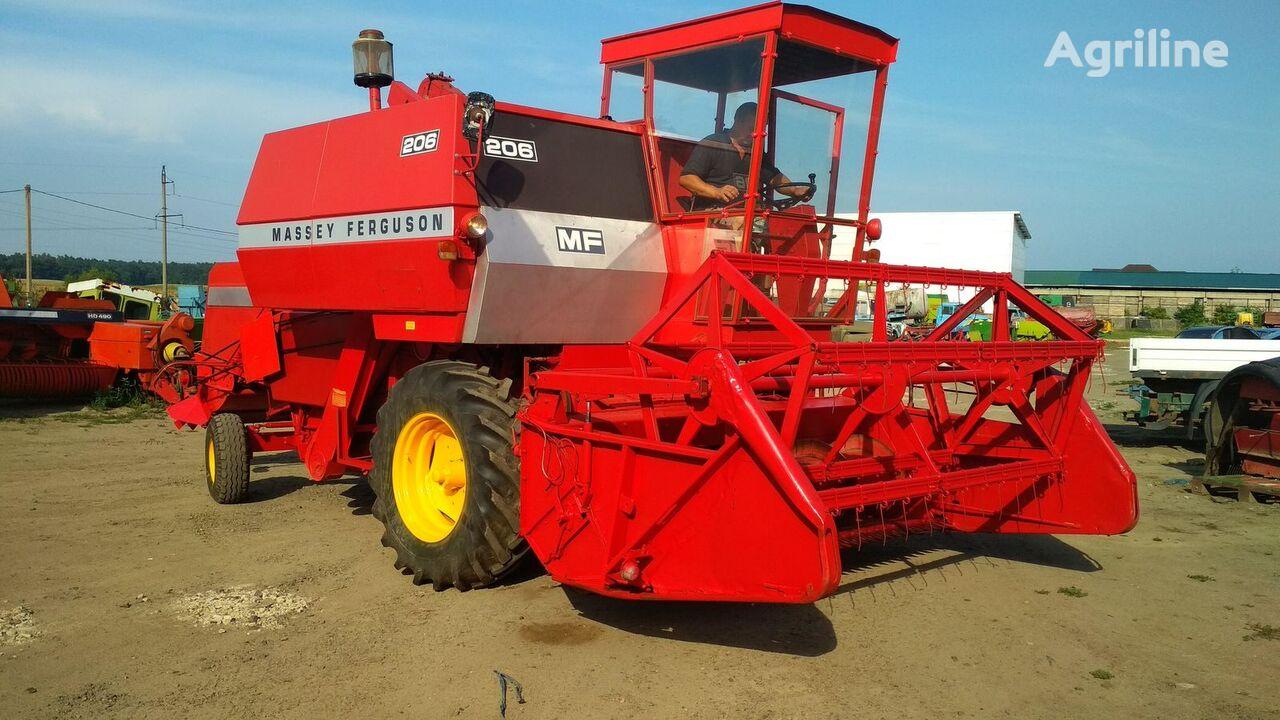 MASSEY FERGUSON 206 SUPER combine-harvester