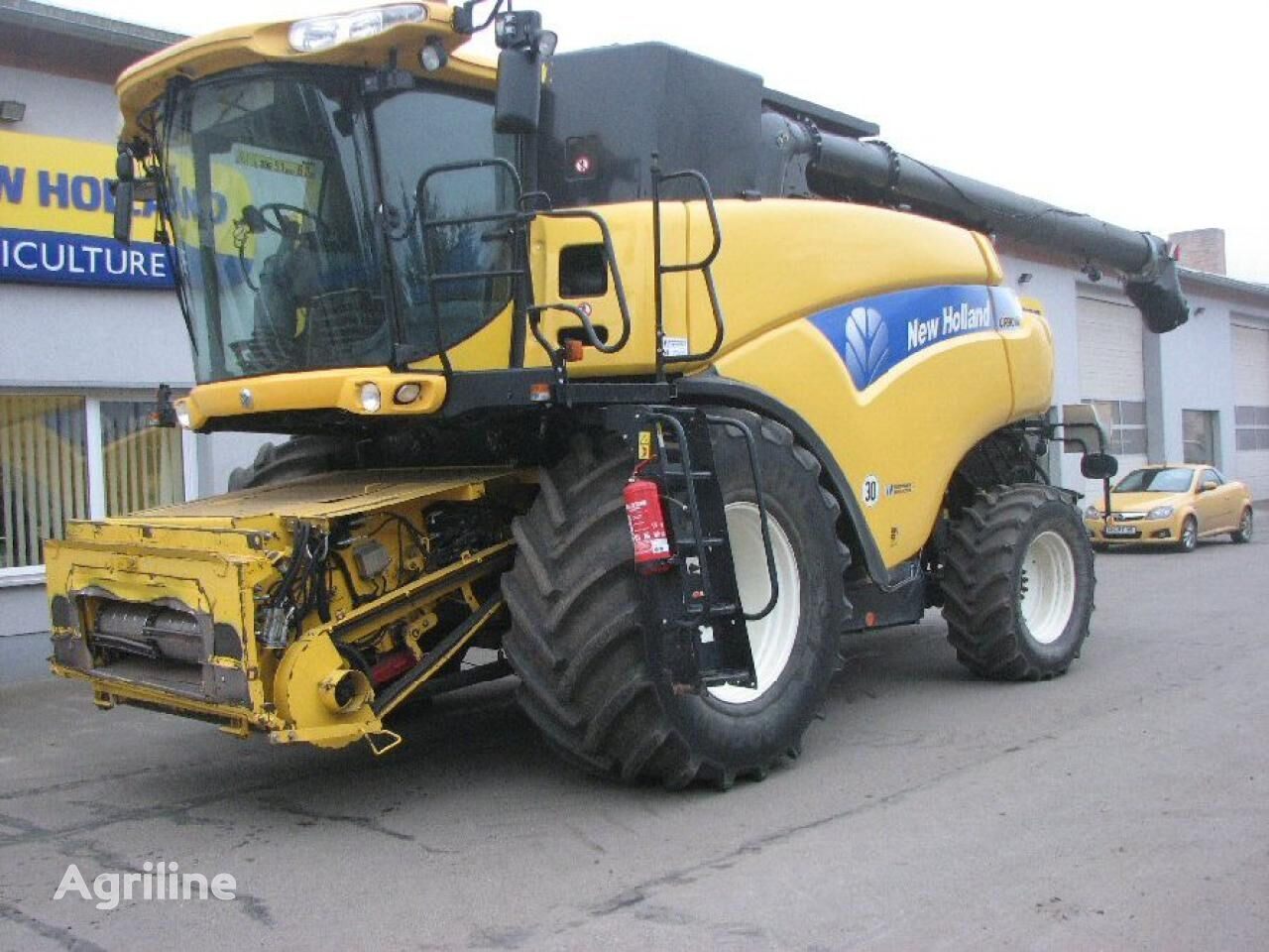 NEW HOLLAND CR 9090 Elevation combine-harvester