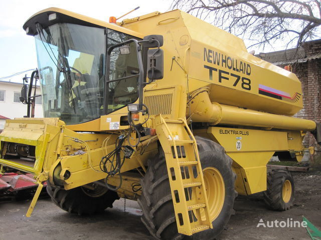 NEW HOLLAND TF 78 combine-harvester