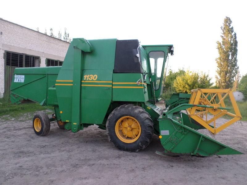 VOLVO 1130, CLAAS, JOHN DEERE, MF combine-harvester