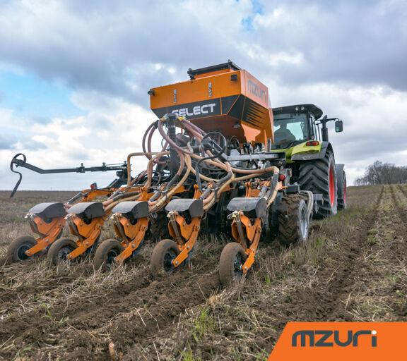 new MZURI Mzuri Pro-Til 3T Select combine seed drill