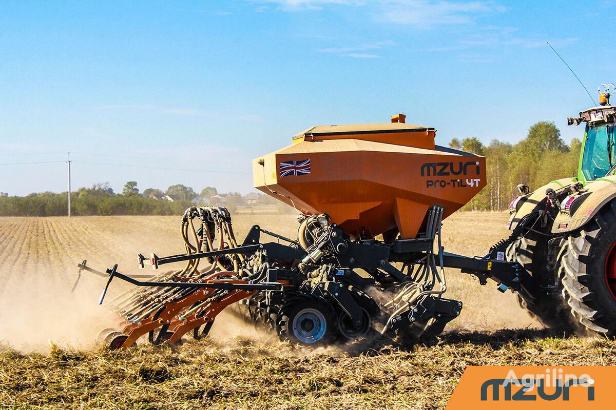 new MZURI Mzuri Pro-Til 4T combine seed drill