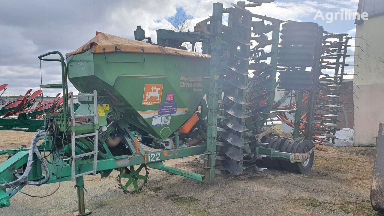 AMAZONE Cirrius 6001 combine seed drill