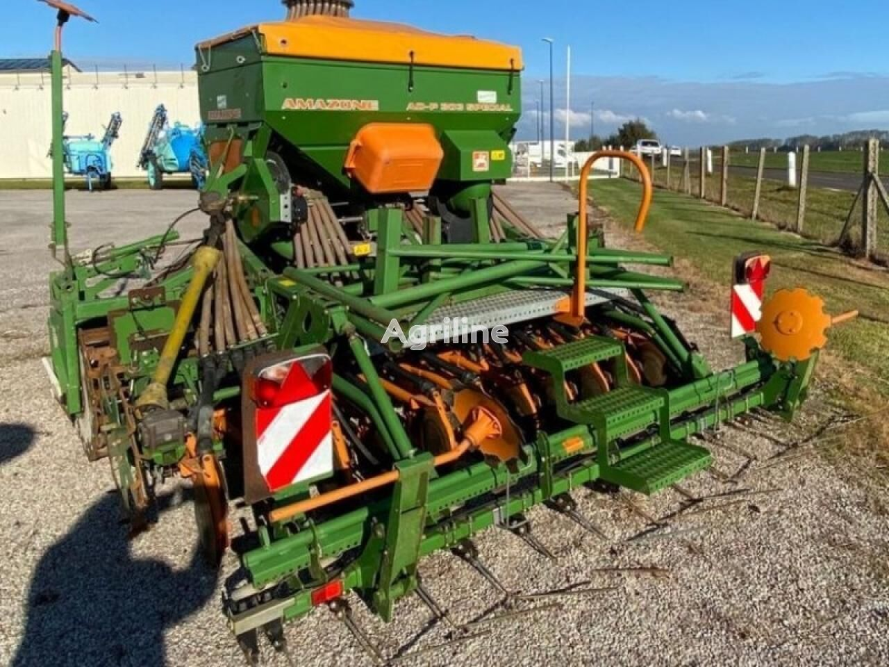 AMAZONE cereales combine seed drill