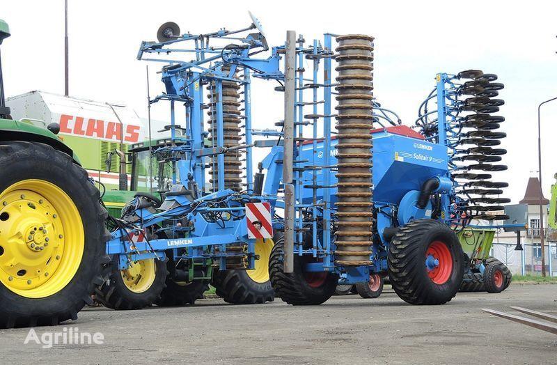 LEMKEN Solitair 9/600 + KA-DS + Quarz 7/600 A combine seed drill