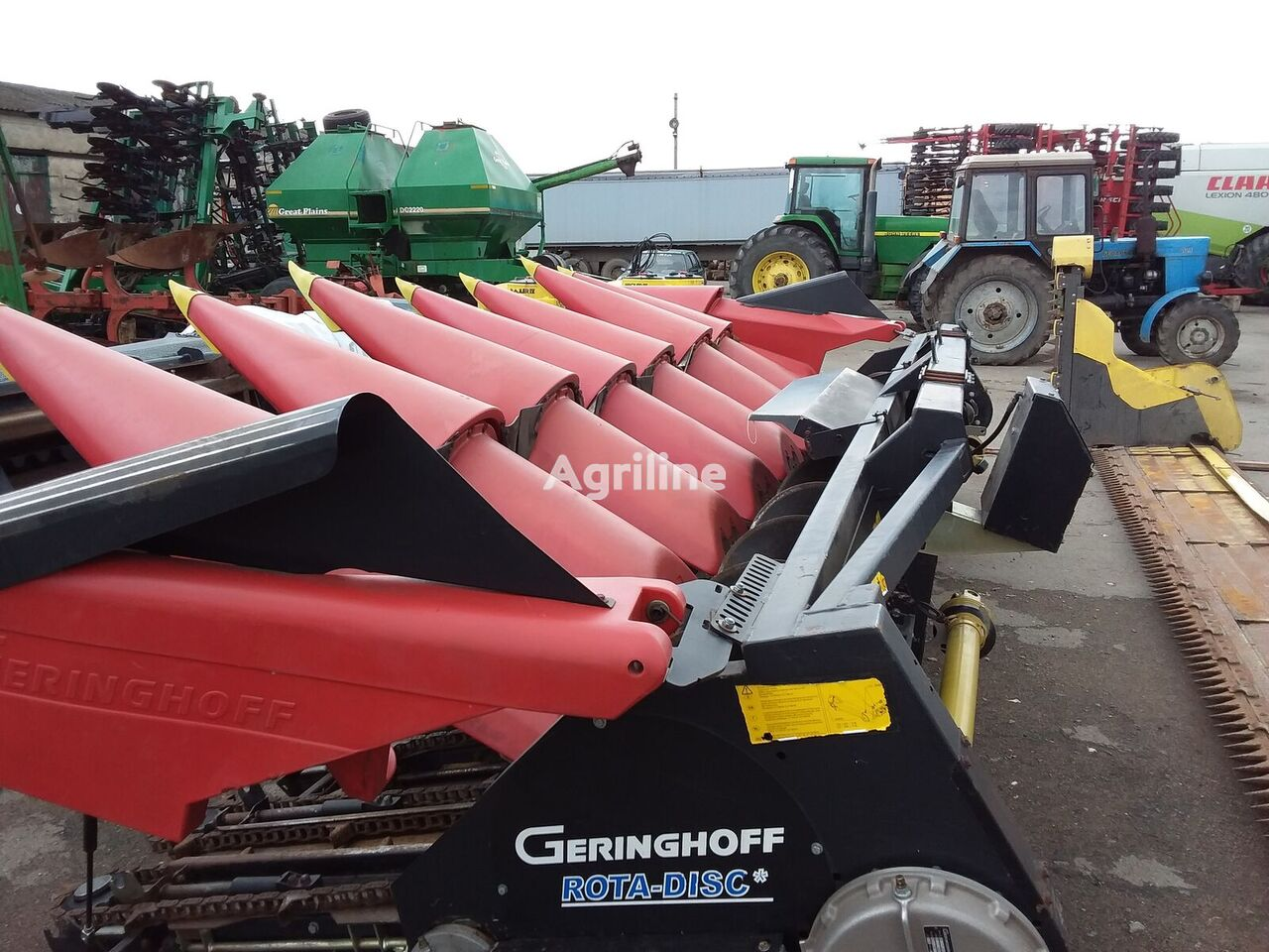 GERINGHOFF RD870  corn header