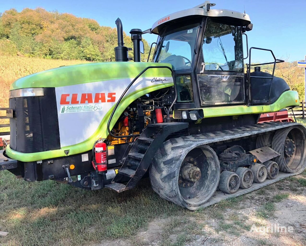 CLAAS Challenger 85E crawler tractor