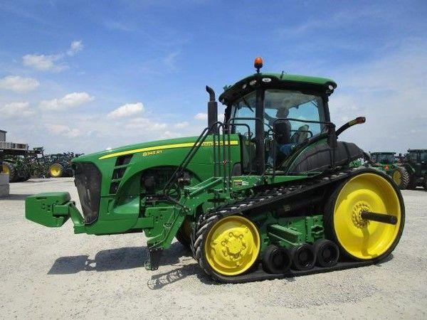 JOHN DEERE 8345RT crawler tractor