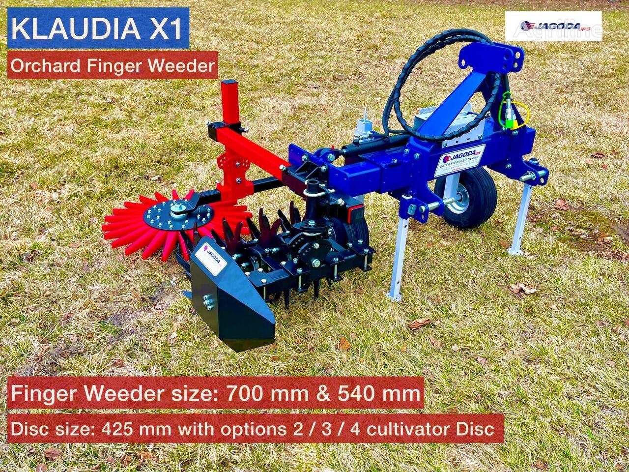 new JAGODA Fingerhacke / Cultivateur / Finger Weeder / Deshierbadora cultivator