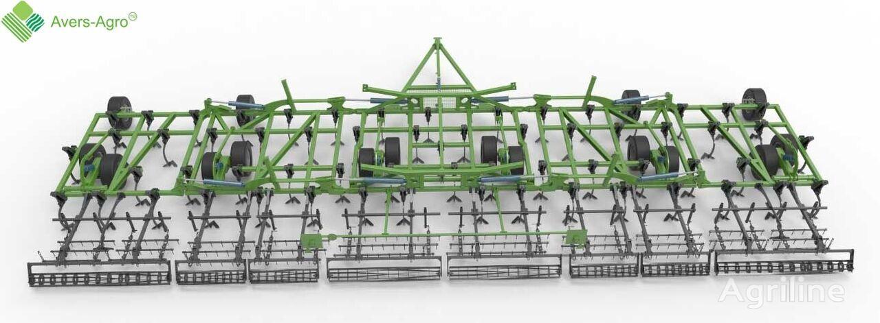 new Avers-Agro Kultivator sploshnoy obrabotki Green Field 18,3 m cultivator
