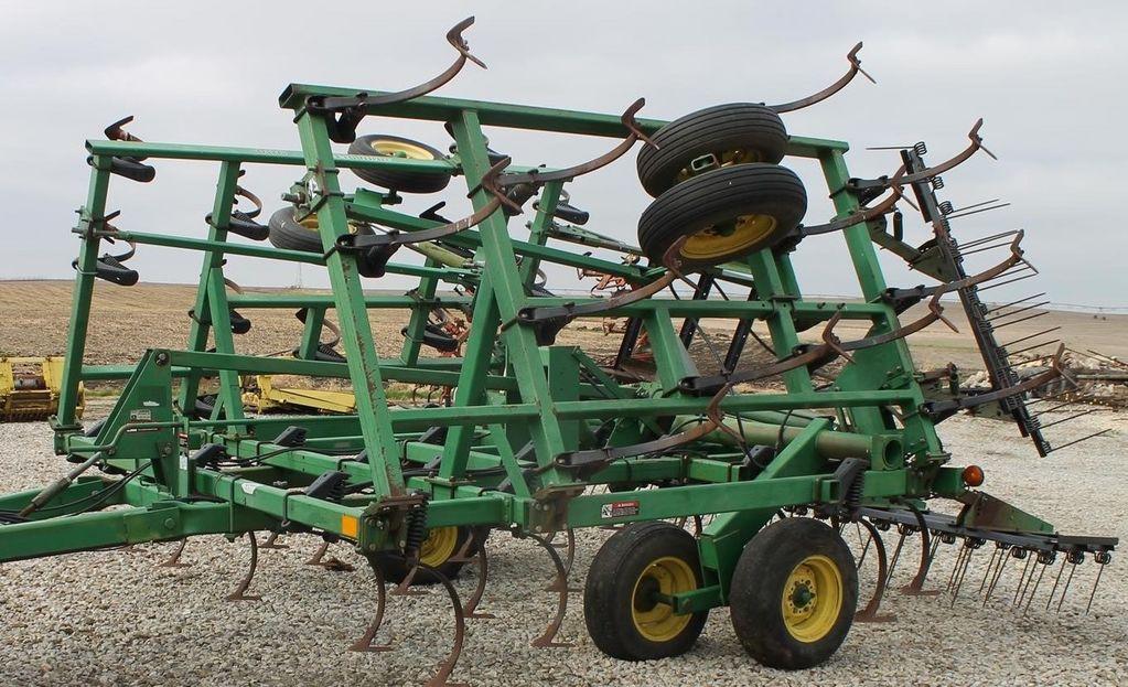 JOHN DEERE 980 7,5 m HOROShAYa SKIDKA, kultivator iz SShA cultivator