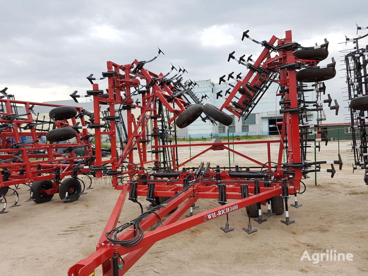 WIL-RICH 3400 12 metrov + shleyf borona cultivator