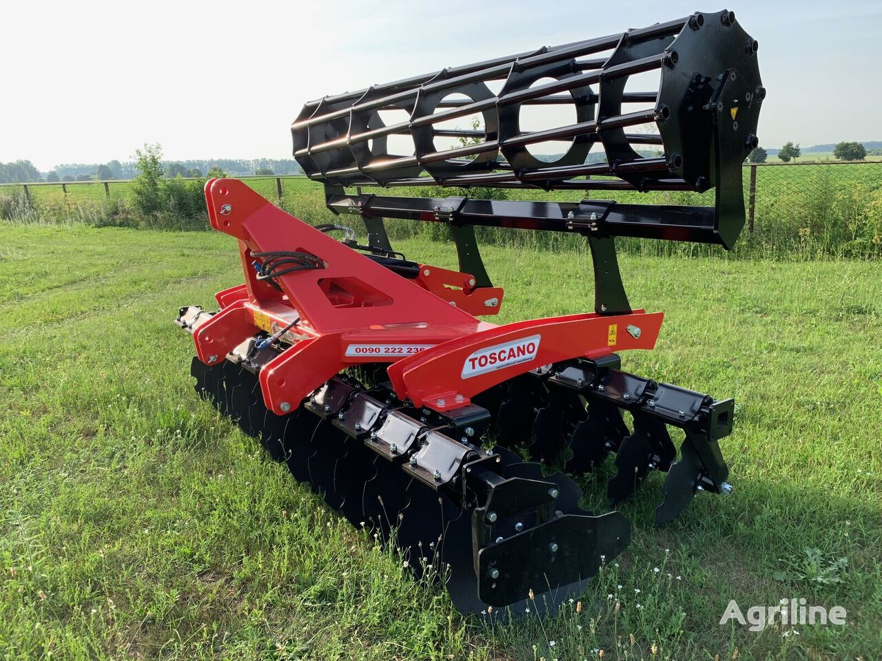 new TOSCANO GBBA-24  disk harrow