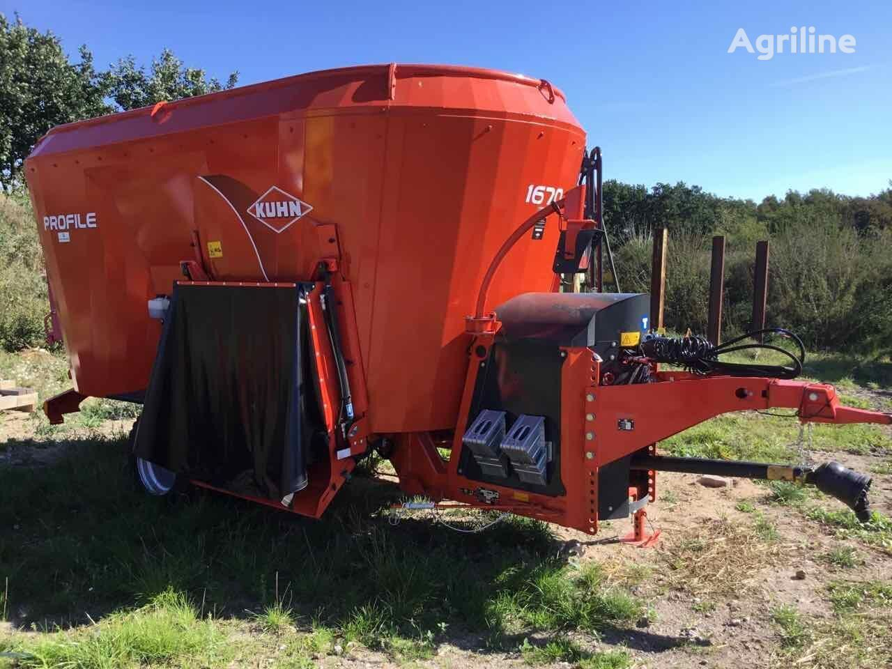 new KUHN PROFILE 1670 SELECT feed mixer