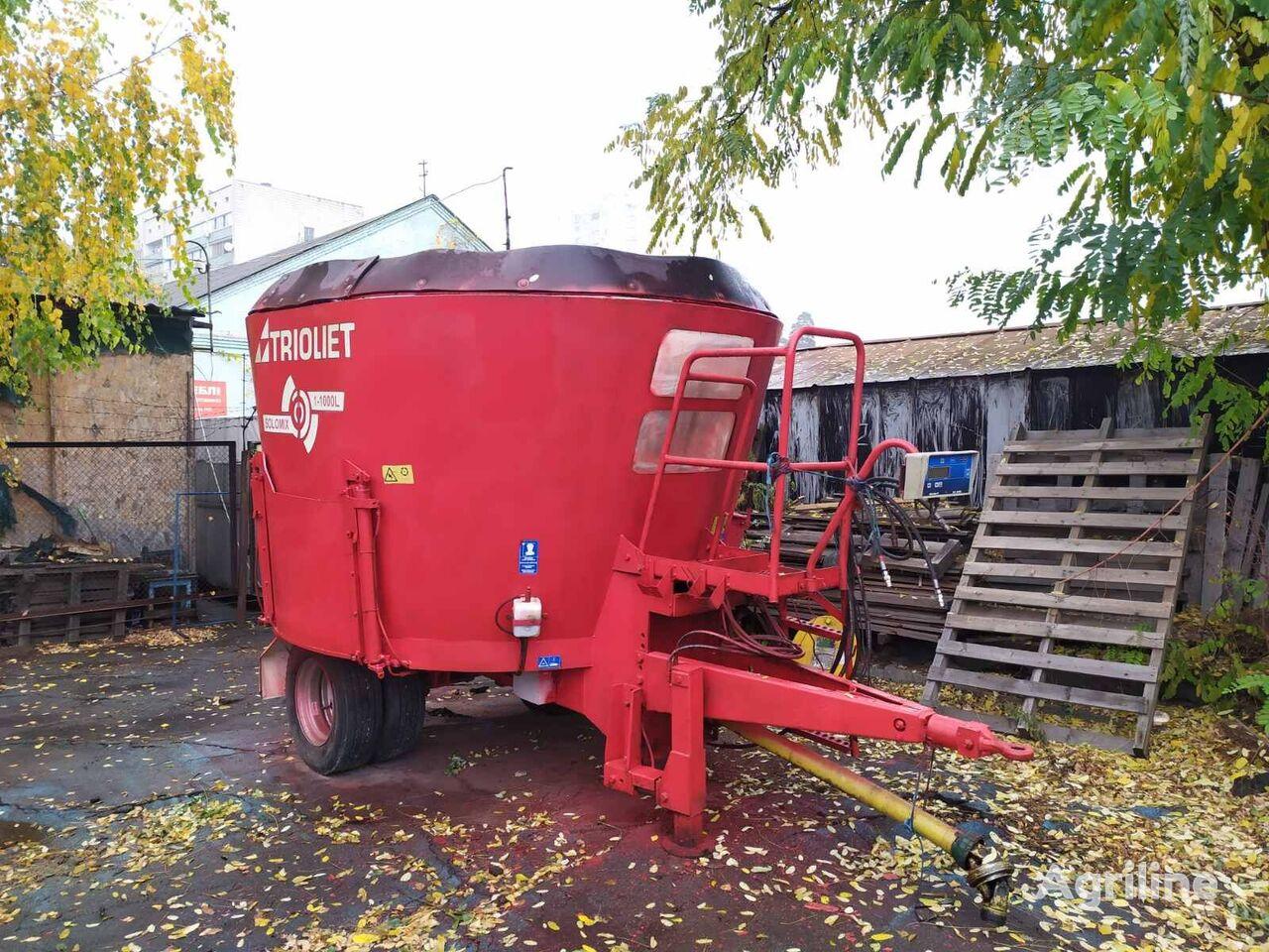 TRIOLIET SM 10L feed mixer
