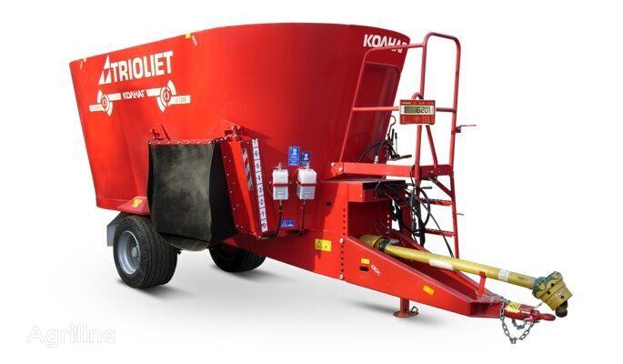 new TRIOLIET Solomix 2 12 ZK feed mixer