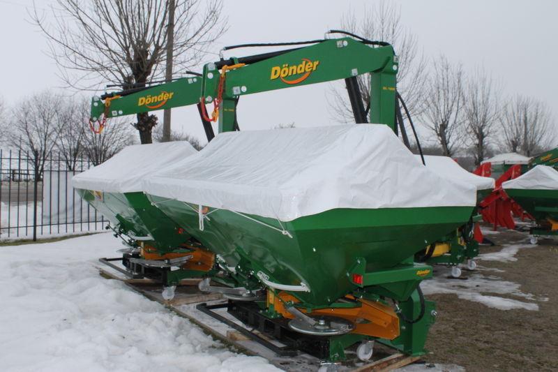 new DONDER CGSA fertiliser spreader