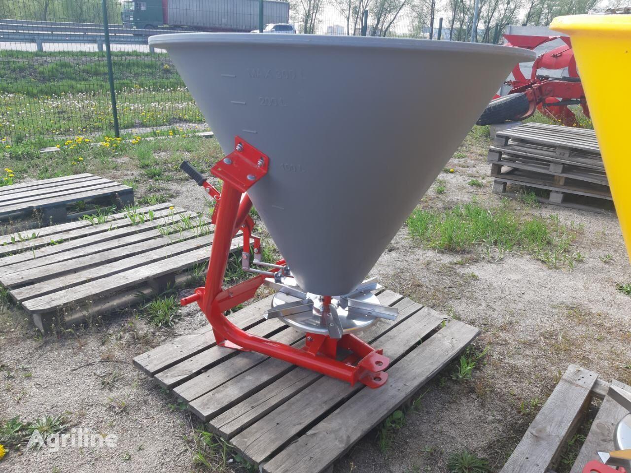 new JAR-MET fertiliser spreader
