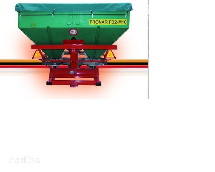 new PRONAR FD2-M10 fertiliser spreader